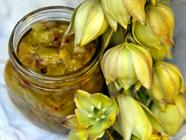 Marinated Yucca Flowers